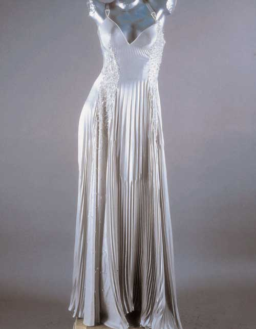 Versace Spring/Summer 1996. Evening gown worn by Madonna at the Brit Awards. Versace Dress