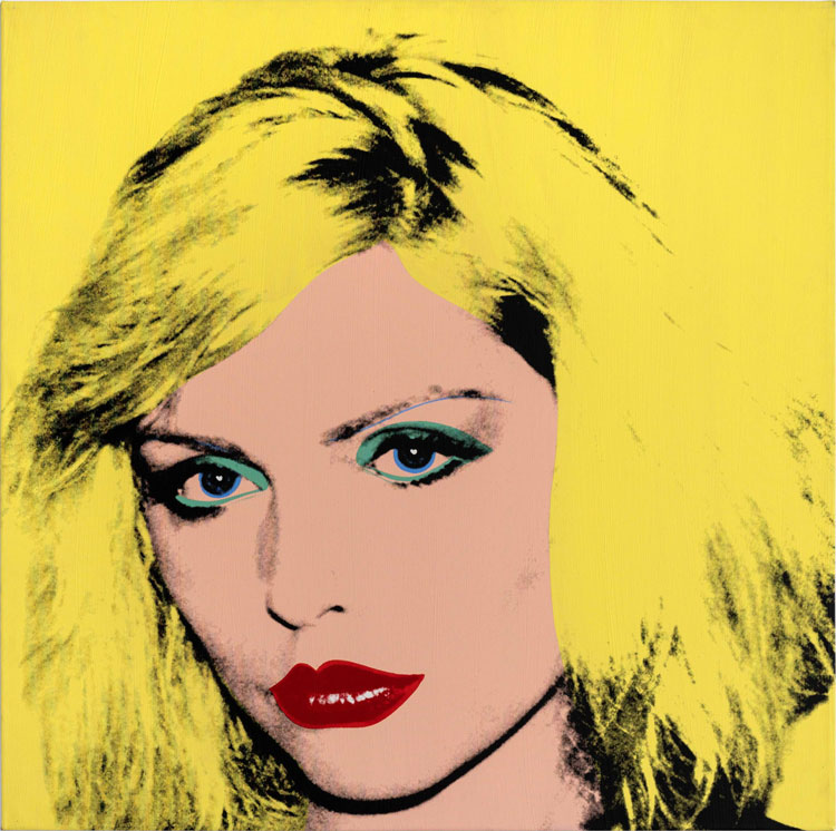 Andy Warhol. Debbie Harry, 1980. Private collection of Phyllis and Jerome Lyle Rappaport 1961. © 2020 The Andy Warhol Foundation for the Visual Arts, Inc. / Licensed by DACS, London.