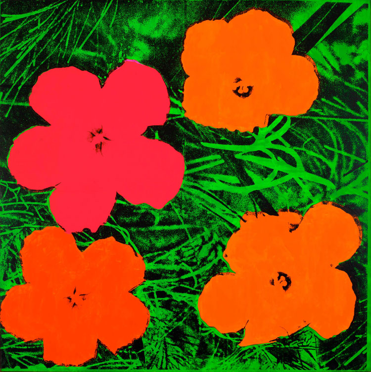 Andy Warhol. Flowers, 1964. Private collection. © 2020 The Andy Warhol Foundation for the Visual Arts, Inc. / Licensed by DACS, London.