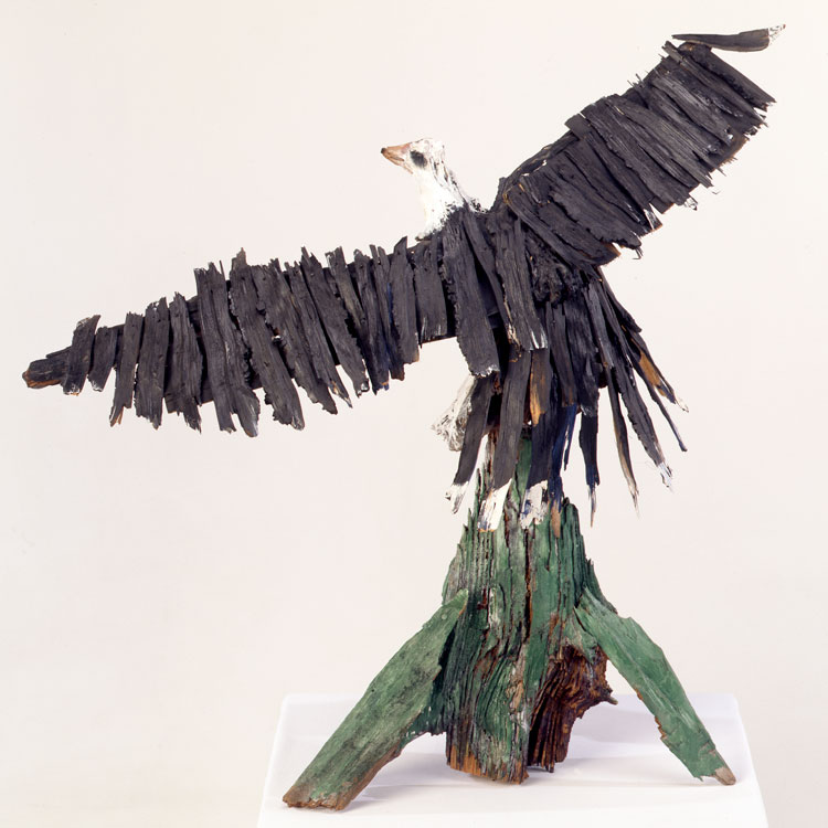 Ralph Griffin, Eagle, 1988. Photo: Stephen Pitkin, Pitkin Studio.