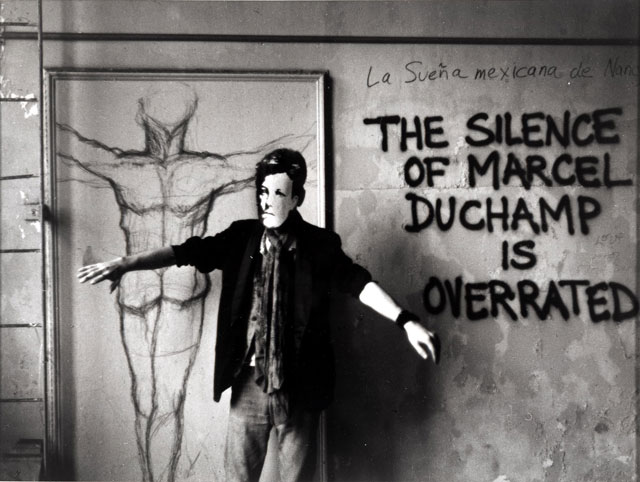 David Wojnarowicz, Arthur Rimbaud in New York, 1978–79 (printed 1990). Gelatin silver print, 25.4 × 20.3 cm). Collection of Philip E. and Shelley Fox Aarons. Photograph courtesy Museo Reina Sofia.
