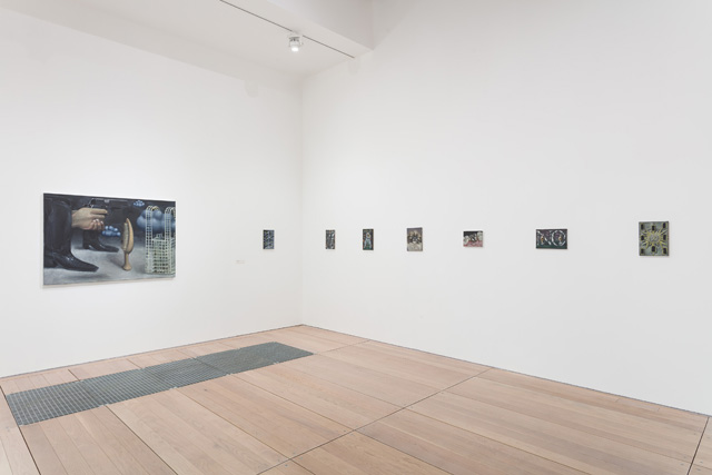 Issy Wood, All The Rage, installation view, Goldsmiths Centre for Contemporary Art, 2019. Photo: Mark Blower.