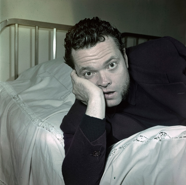 Orson Welles. Photo: Getty Images.