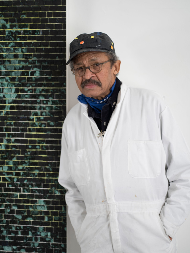 Jack Whitten. Portrait. Photo: John Berens.