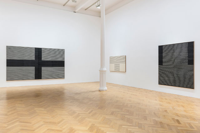 Brent Wadden: Sympathetic Resonance, installation view at Pace Gallery, London, 22 November 2018 to 10 January 2019. Copyright Brent Wadden, courtesy Pace Gallery.