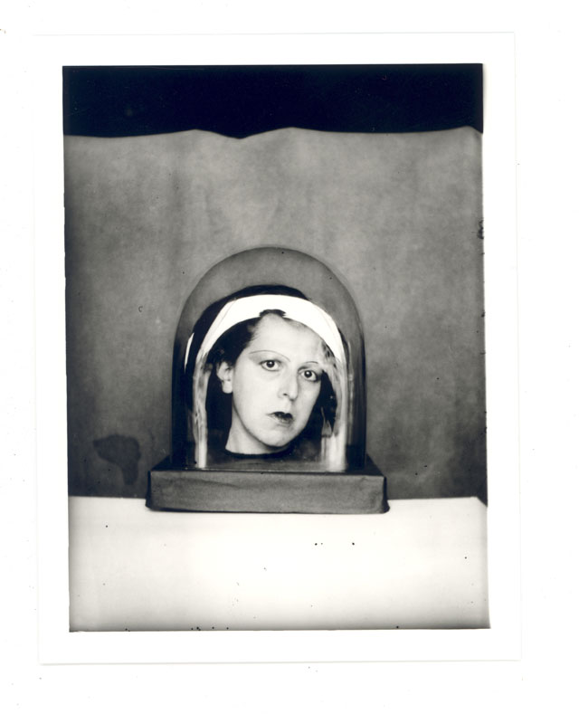 Claude Cahun. Studies for a keepsake c1925–6. Four exhibition prints from monochrome negatives, 13.7 × 10.5 cm each. Courtesy of Jersey Heritage.