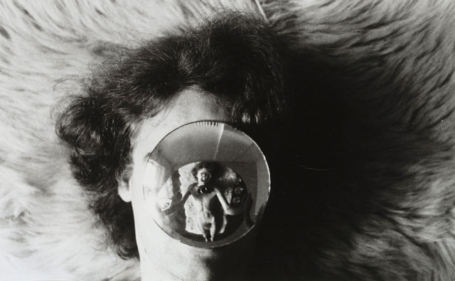 AA Bronson. Mirror Sequences, 1969-1970. Gelatin silver print, 7 3/4 x 5 in each. Joseph H. Hirshhorn Bequest Fund, 2008. Courtesy Hirshhorn Museum and Sculpture Garden. Photograph: Lee Stalsworth.