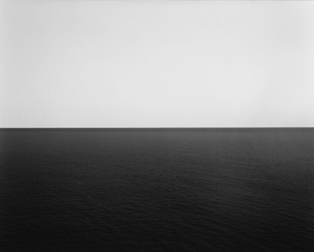 Hiroshi Sugimoto. Boden Sea, Uttwil, 1993. Gelatin silver print, 46 15/16 x 58 11/16 in. Museum purchase with funds provided by The Glenstone Foundation, Mitchell P. Rales, Founder, 2006. Courtesy Hirshhorn Museum and Sculpture Garden. Photograph: Lee Stalsworth.