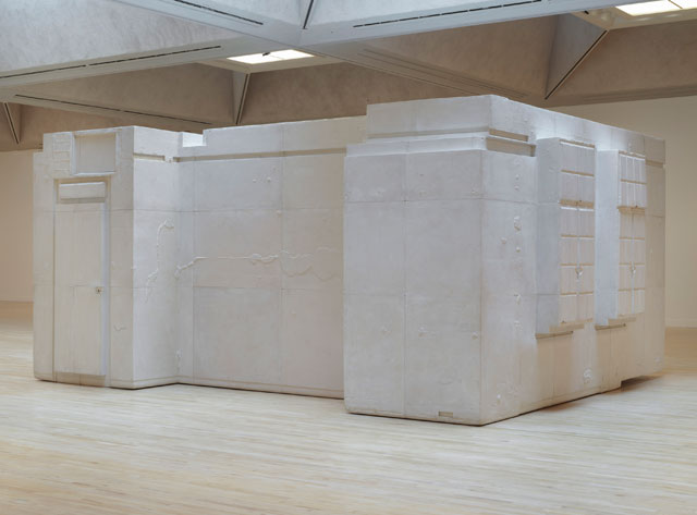 Rachel Whiteread. Untitled (Room 101), 2003. Plaster, wood and metal, 300 x 643 x 500 cm. National d'Art Moderne, Centre Pompidou, Paris, France. Purchased with the support of the Friends of the National Museum of Modern Art and the Clarence Westbury Foundation 2009.