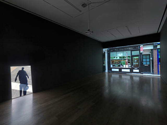 Installation view, Mark Wallinger, ID, Hauser & Wirth London, 2016. Photograph: Ken Adlard.