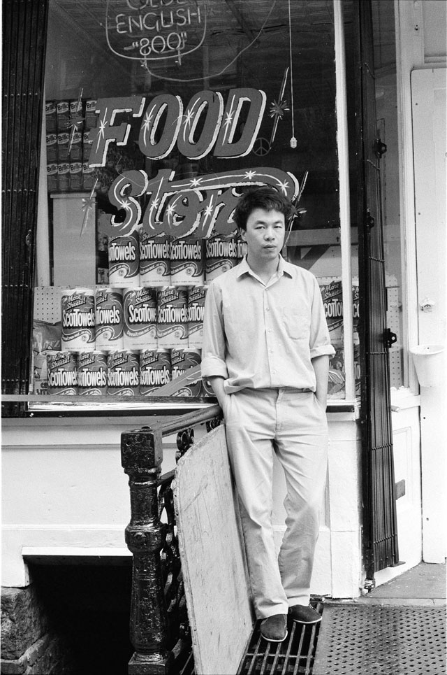 Ai Weiwei. Williamsburg, Brooklyn 1983, from the New York Photographs series 1983‒93. Silver gelatin photograph. Ai Weiwei Studio. © Ai Weiwei.