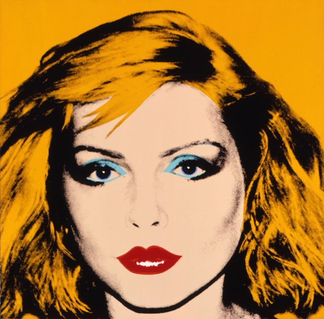 Andy Warhol. Debbie Harry, 1980. Acrylic and silkscreen ink on linen, 106.7 x 106.7 cm. The Andy Warhol Museum, Pittsburgh; Founding Collection, Contribution The Andy Warhol Foundation for the Visual Arts, Inc. © The Andy Warhol Foundation for the Visual Arts, Inc./ARS, New York. Licensed by Viscopy, Sydney.