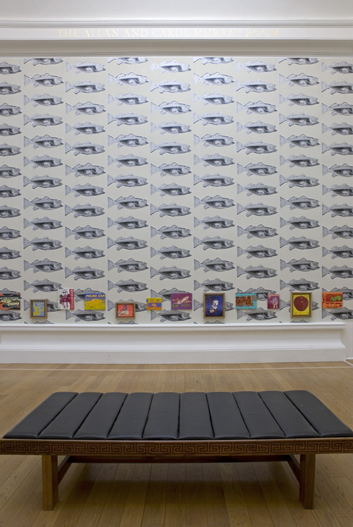 Photograph of the Children's Room. © Art works licensed by the Andy Warhol Foundation for the Visual Arts, Inc/ARS, New York and DACS London 2007. 