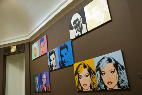 Photograph of the Portraits Room. © Art works licensed by the Andy Warhol Foundation for the Visual Arts, Inc/ARS, New York and DACS London 2007. Photograph by Michael Wolchover