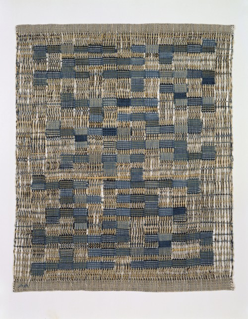 Anni Albers. Tikal, 1958. Cotton; plain weave, leno weave. Gift of the Johnson Wax Company, through the American Craft Council, 1979. Photograph: Eva Heyd.