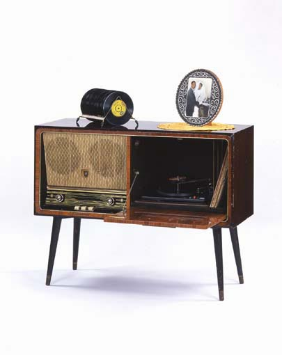 Radiogram, c1960. Photo credit: John Hammond/Geffrye Museum.