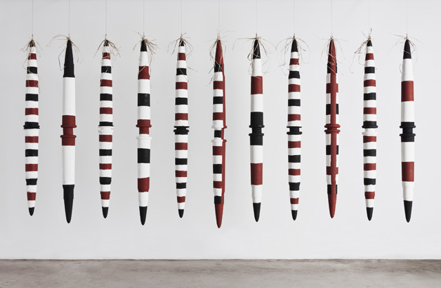 Tony Albert, Alair Pambegan. Frontier wars (Flying Fox Story Place), 2014. AGNSW, Purchased with funds provided by the Aboriginal Collection Benefactors' Group 2015. © Tony Albert and Alair Pambegan.