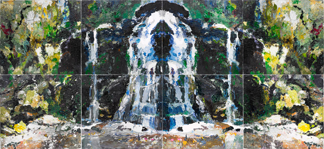 Ben Quilty. Fairy Bower Rorschach, 2012. AGNSW, Purchased with funds provided by the Patrick White Bequest 2012. © Ben Quilty.