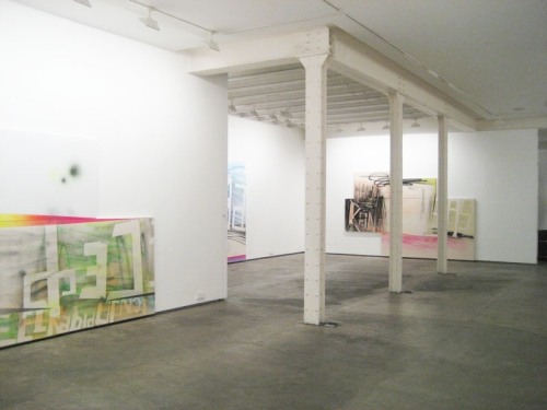 Wendy White. Feel Rabid or Not. Galeria Moriarty, Madrid (Sept 17 - Nov 1, 2009)
