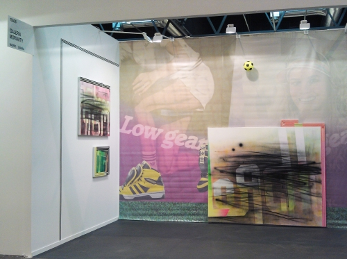 Wendy White. Solo booth, Galeria Moriarty. ARCO Madrid 2012