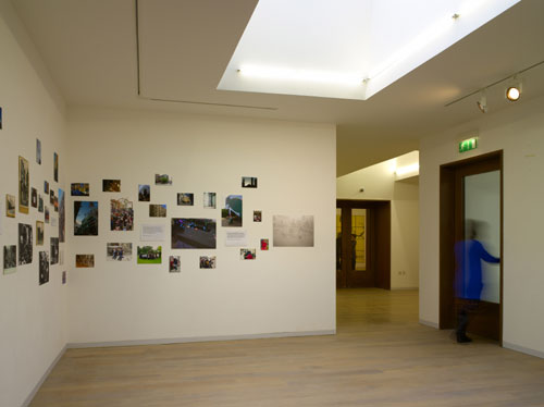 Whitechapel Gallery: New spaces. Gallery 5, showing <em>Archive Adventures</em>. Photo: Richard Bryant