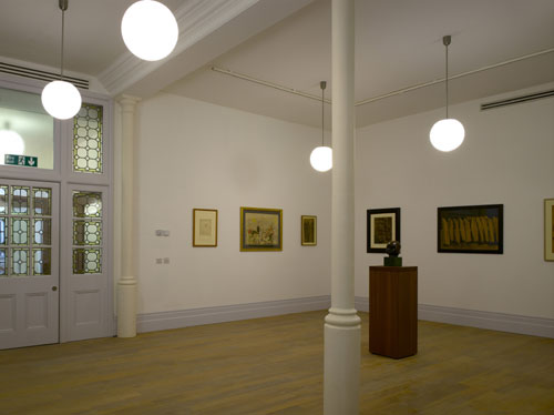 Whitechapel Gallery: New spaces. Gallery 4, showing <em>The Whitechapel Boys</em>. Photo: Richard Bryant