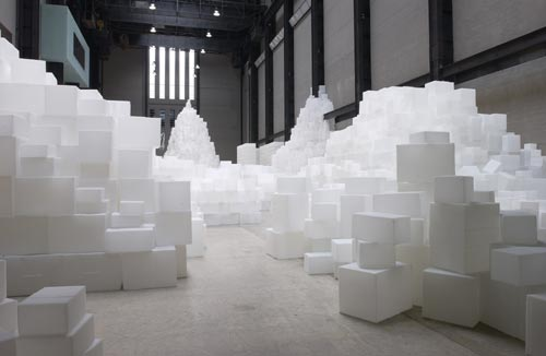 The Unilever Series: Rachel Whiteread. EMBANKMENT © Marcus Leith, Tate Photography.