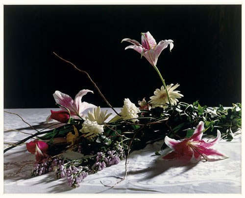 Christopher Williams. Bouquet, for Bas Jan Ader and Christopher D'Arcangelo, 1991. Tate. Image courtesy Galerie Gisela Capitain, Cologne and David Zwirner, New York/London.