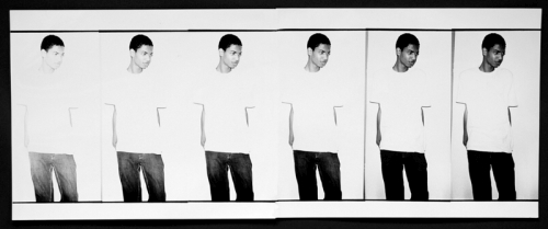 Wilmer Wilson IV. Fading to Black, 2008. Silver gelatin print, 8.5 x 22 in. Courtesy the artist and CONNERSMITH.