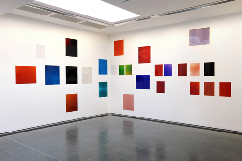 Wolfgang Tillmans. <em>Silver Installation VII,</em> 2009. Unique C-type prints, 306