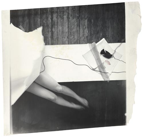 Francesca Woodman, Untitled, Providence, Rhode Island, 1978. Digital c-print 127.6 x 120.7 cms, 50.25 x 47.5 inches. Courtesy George and Betty Woodman and Victoria Miro, London