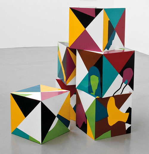 Teresa Burga. Cubes, 1968. Private collection. Photograph: Courtesy the artist and Galerie Barbara Thumm. © Teresa Burga.