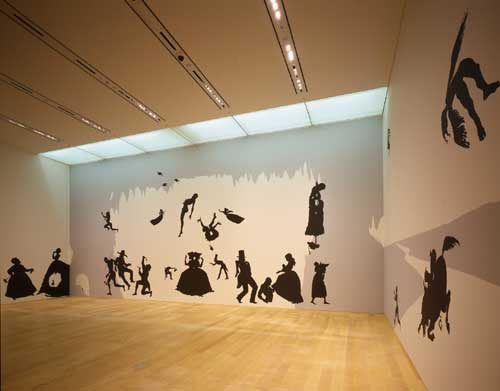 Kara Walker, <i>The Hot Black Road to Freedom, a double-dixie two-step 