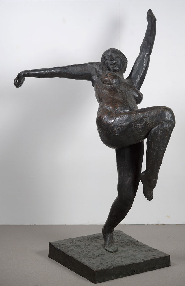 Rik Wouters. Mad virgin, 1912. Bronze, 195 × 115 × 130 cm. Brussels, Musée d'Ixelles. © Photograph: Mixed Media.