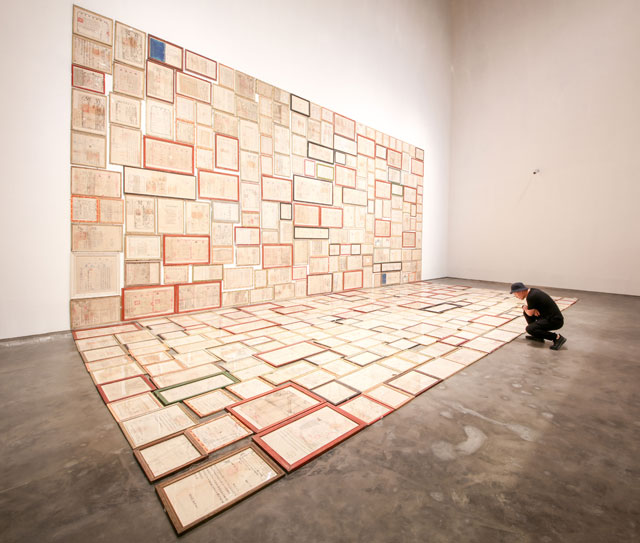Mao Tongqiuang. Leasehold, 2009-18. Image courtesy Yinchuan Biennale.