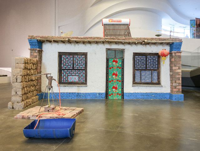 Marjetica Ptrc. Rural House no.1, 2018. Image courtesy Yinchuan Biennale.