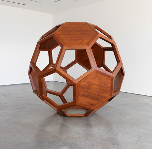 <p>Ai Weiwei. <em>Divina Proportione</em>, 2010. Huali Wood. Courtesy the artist and Lisson Gallery.