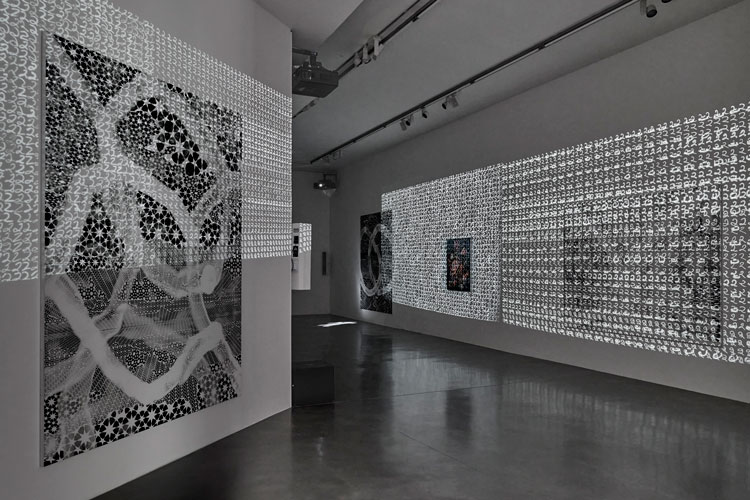 Toby Ziegler, The sudden longing to collapse 30 years of distance, installation view, Simon Lee Gallery, London. Courtesy of the artist and Simon Lee Gallery. Photo: Ben Westoby.