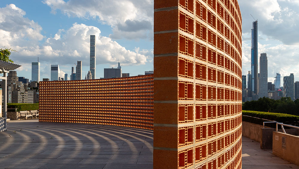 With its nod to the US-Mexico border wall, Zamora's installation at the Met raises provocative questions about socioeconomic and environmental issues as well as the increasing scrutiny facing art in public spaces