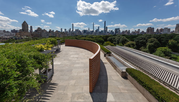 Héctor Zamora, Lattice Detour, 2020. Installation view, The Roof Garden Commission, courtesy of the artist. The Metropolitan Museum of Art, Photo: Anna-Marie Kellen.