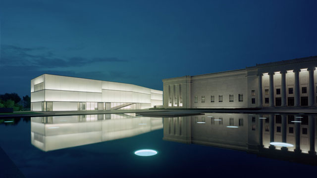 The Nelson-Atkins Museum of Art in Kansas City, Missouri. Photograph: Tim Hursley. Courtesy The Nelson-Atkins Museum of Art.