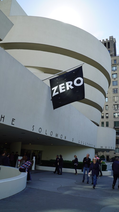 Zero: Countdown to Tomorrow, 1950s-60s, Solomon R Guggenheim Museum, New York, 10 October 2014 – 7 January 2015. Photograph: Miguel Benavides.
