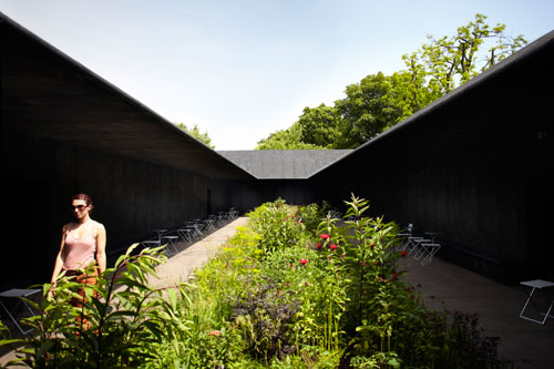 Serpentine Gallery Pavilion 2011, view 2.