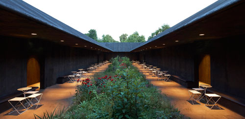 Serpentine Gallery Pavilion 2011, view 3. 