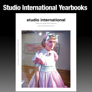 Studio International Yearbooks
