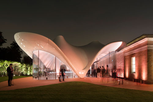 Serpentine Sackler Gallery, London. © 2013 Luke Hayes.