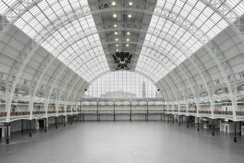 Art13 London: View of Olympia Grand Hall.