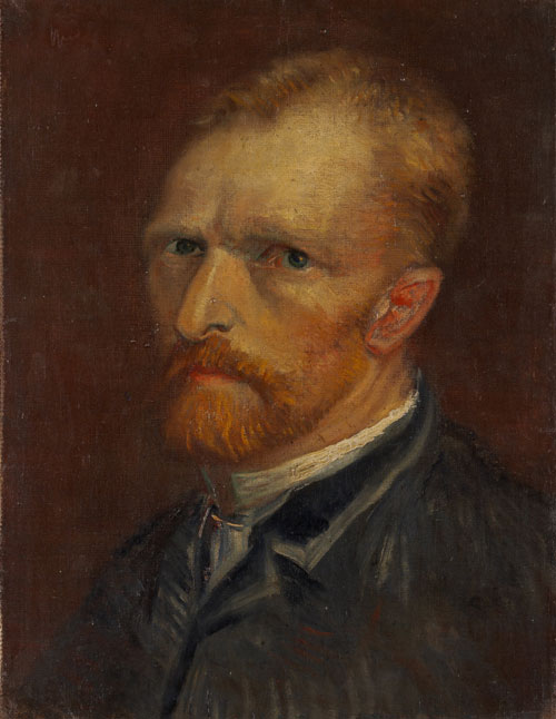Vincent van Gogh. Self-Portrait, December 1886-January 1887. Oil on canvas, 45 x 35.5cm. Collection Gemeentemuseum Den Haag, The Hague.