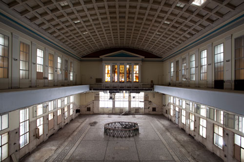 Agora Exhibition Space - Former building of the Athens Stock Exchange . @Mariana Bisti.