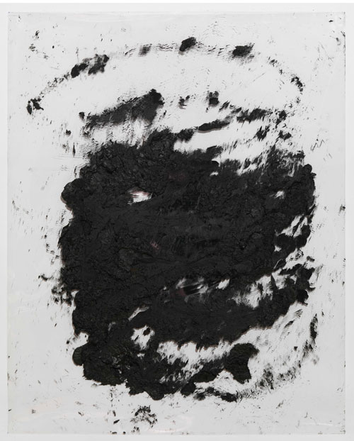 Richard Serra. Courtauld Transparency #6, 2013. Litho crayon on Mylar, 76.2 x 61 cm. © Richard Serra.